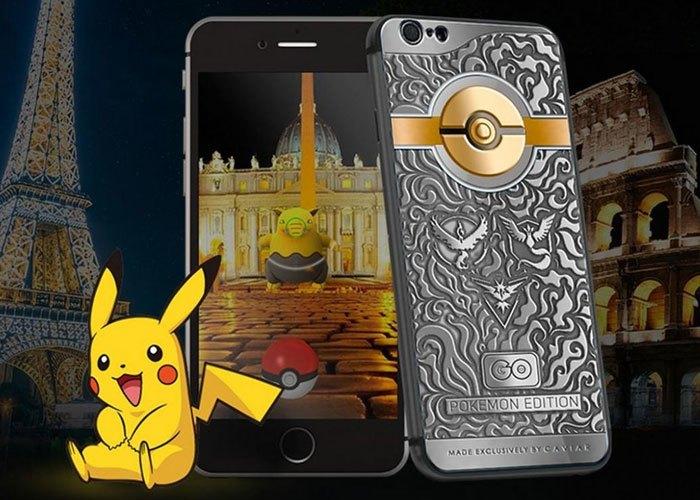 Chiếc điện thoại iPhone dành cho những đại gia thích game Pokemon