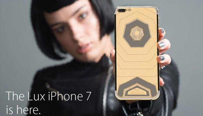 Bạn có tin được rằng 60 carat kim cương đang nằm trên chiếc điện thoại Brikk Lux iPhone 7 Collection này không?