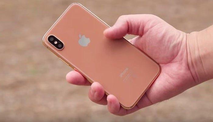 """Điện thoại iPhone 8 phiên bản màu mới """"Blush Gold"""" độc đáo"""