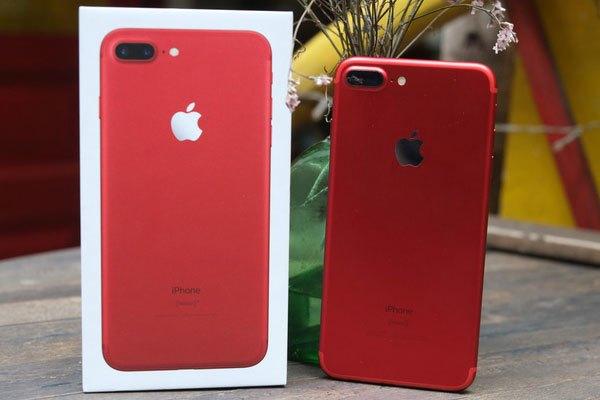 Điện thoại iPhone 7 Plus màu đỏ đẹp rạng ngời