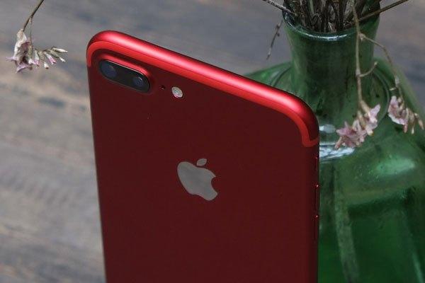 Dải anten trùng màu điện thoại iPhone 7 Plus màu đỏ