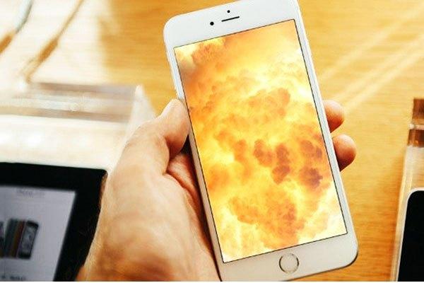 """Nhiệt độ tăng cao sẽ khiến chiếc điện thoại iPhone của bạn """"biểu tình"""" đấy!"""