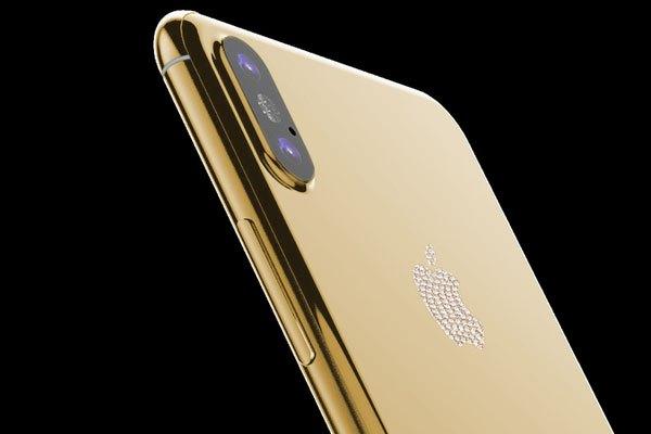 Phiên bản mạ vàng đẹp long lanh của iPhone 8