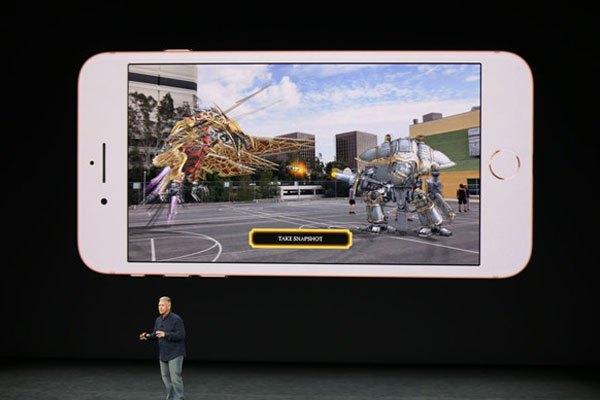 iPhone 8 cho phép trải nghiệm AR
