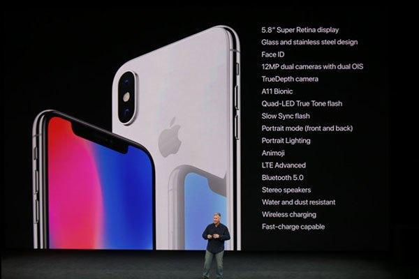 iPhone X sử dụng camera kép 12MP
