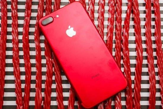 iPhone 7 màu đỏ đẹp lung linh