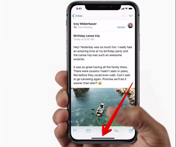 Bạn sẽ cần thời gian để trải nghiệm với chiếc điện thoại iPhone X đã mất đi nút Home quen thuộc