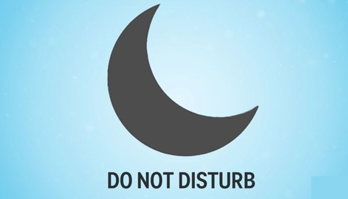Ký hiệu trăng lưỡi liềm trên điện thoại iPhone giúp bạn hạn chế các thông báo phiền giấc ngủ