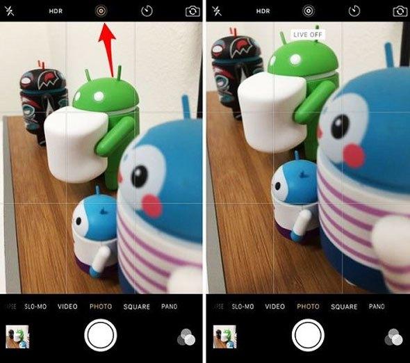 Tắt Live Photo trên điện thoại để cải thiện tấm ảnh của bạn