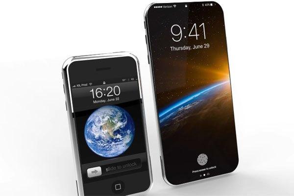 Điện thoại iPhone 8 đọ dáng cùng người anh em