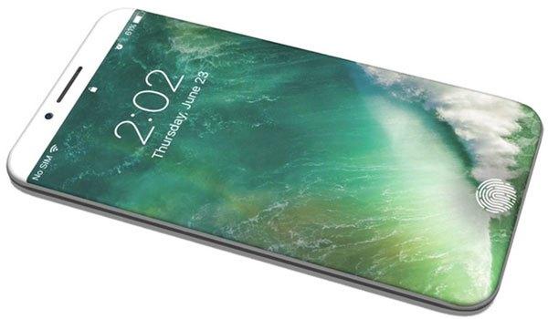 Điện thoại iPhone 8 thiết kế đột phá mới lạ nhận được sự quan tâm mạnh mẽ