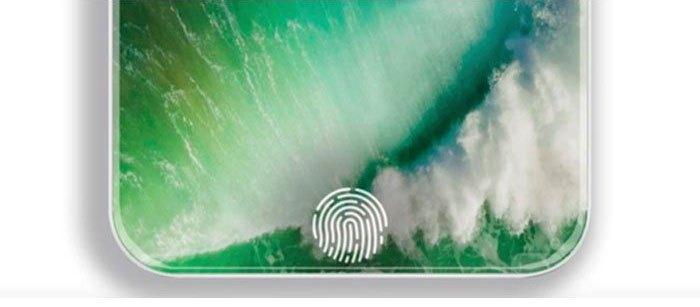Điện thoại iPhone 8 sẽ cảm biến vân tay trên màn hình