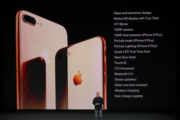 Cấu hình iPhone 8 và iPhone 8 Plus