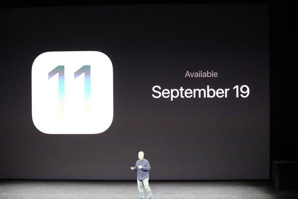 iOS sẽ ra mắt ngày 19/9