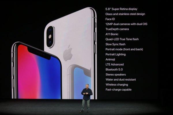 Cấu hình iPhone 10
