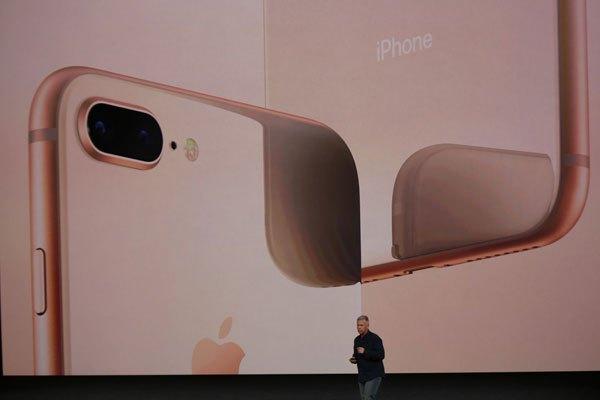 Hình ảnh chiếc điện thoại iPhone 8