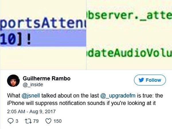 Phát hiện thú vị củanhà phát triển iOS Guilherme Rambo về tính năng mới của iPhone 8