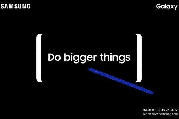 Điện thoại Galaxy Note 8 sẽ được ra mắt vào ngày 23 tháng này