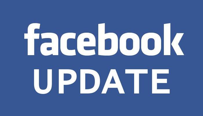 Đầu tiên, chúng ta cần update Facebook lên bảng mới nhất
