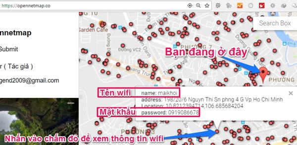 Tìm WiFi miễn phí trên máy tính