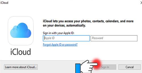 Tiến hành các bước cài đặt và đăng nhập tài khoản Apple ID của bạn để sử dụng ứng dụng.