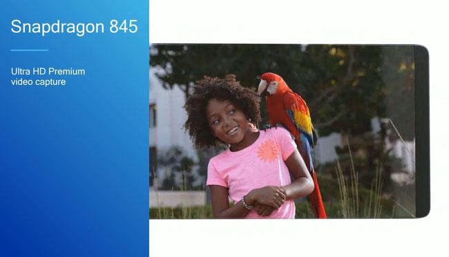 Chip Snapdragon 845 giúp giảm nhiễu nhiều khung khi quay 60 hình ảnh 16-megapixel trong một giây