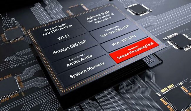 Con chip mới của Qualcomm có tính bảo mật cao