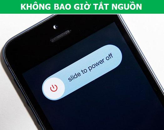Thỉnh thoảng bạn nên tắt nguồn iPhone để thiết bị hoạt động tốt hơn