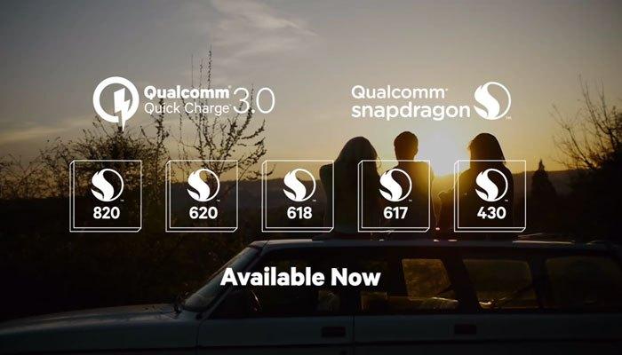 """""""Bộ sưu tập"""" chip trang bị Quick Charge 3.0 của Qualcomm, nay đã kết nạp thêm thành viên mới -Snapdragon 450"""