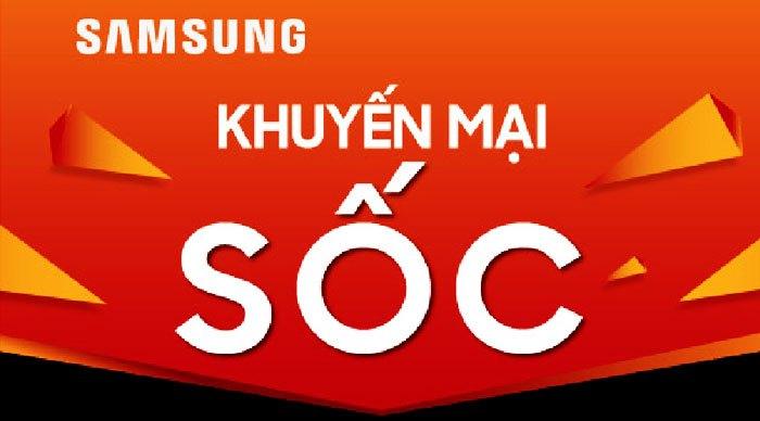 """Mua ngay điện thoại Samsung Galaxy J7 Prime và Samsung Galaxy C9 Pro để nhận những ưu đãi hấp dẫn trong chương trình""""khuyến mại SỐC"""""""