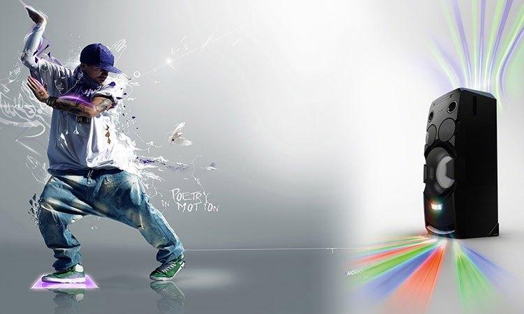 """Trở thành """"DJ chuyên nghiệp"""" nhờ vào dàn âm thanh Sony HiFi MHC-V7D//C SP6"""