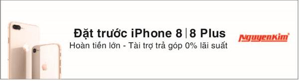 Cơ hội sở hữu iPhone 8/8 Plus trong tầm tay, còn chần chờ gì mà không tham gia ngay?