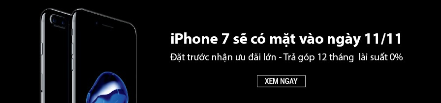 Đặt mua iPhone7/7Plus tại Nguyễn Kim