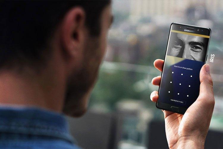 Galaxy Note 7 là smartphone hoàn thiện nhất của Samsung đến thời điểm hiện đại, tích hợp công nghệ Iris Scanner tân tiến