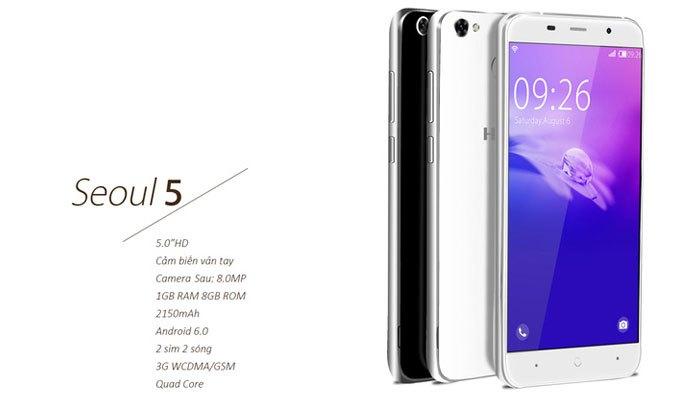 Trong khi đó, điện thoại Seoul 5 sẽ được trang bị cảm biến vân tay