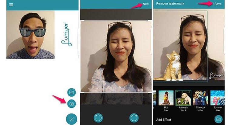 """Ứng dụng Lumyer trên điện thoại sẽ cho ra những tấm hình selfie cực đáng yêu để người nhìn phải thốt ra """"kawaii"""""""