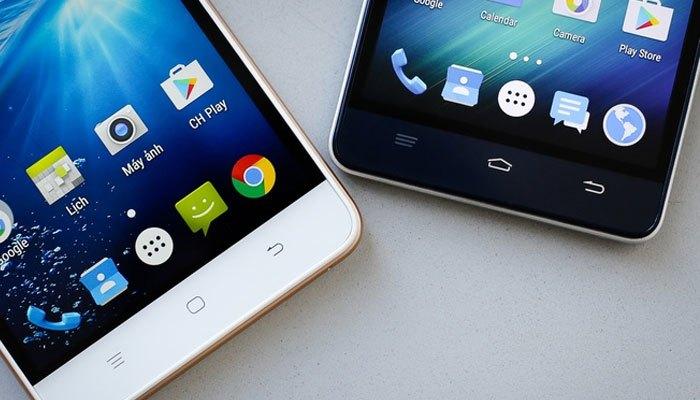 Bộ đôi điện thoại W Moblie F100 và F101 cho màn hình hiển thị sắc nét