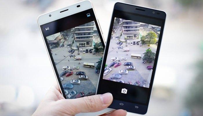 Bộ đôi điện thoại W Moblie F100 và F101 camera ổn
