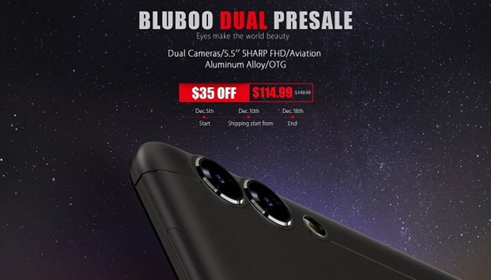 Điện thoại BluBoo đẹp mắt