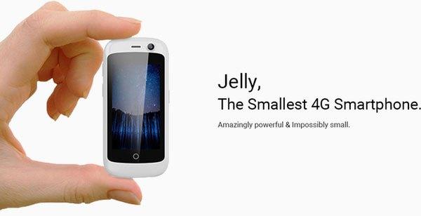 Jelly - chiếc điện thoại 4G nhỏ nhất trên thế giới