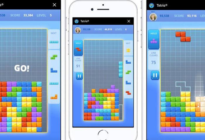 Bạn đã có thể chơi Tetris trên Facebook Messenger