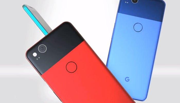 Nhiều phiên bản màu cho concept điện thoại Google Pixel 2 XL