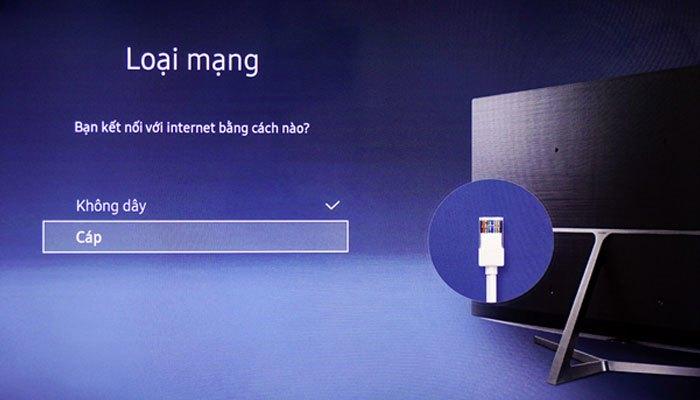 Chọn cáp để kết nối với Internet