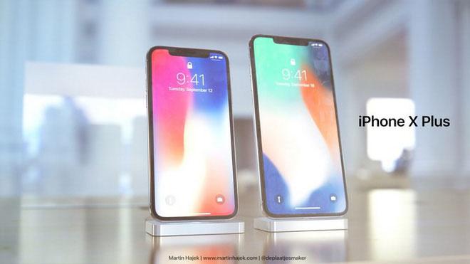 Năm sau Apple sẽ ra mắt iPhone X Plus?