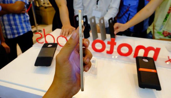 Điện thoại Moto Z mỏng nhất thế giới