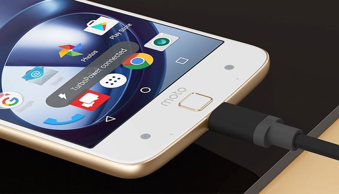 Dung lượng pin của điện thoại Moto Z lên đến 2600mAh