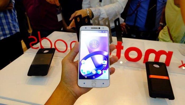 Điện thoại Moto Z có cảm biến vân tay