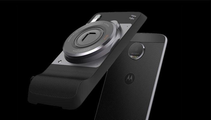 Moto Mods cho điện thoại chụp hình chuyên nghiệp