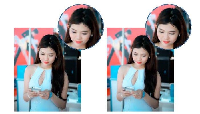 Điện thoại Vivo Y55 zoom hình ảnh cực nét