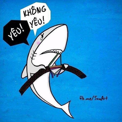 Đứt cáp vì cá mập bói yêu